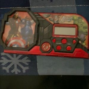 Used Marvel Avengers Clock/Alarm